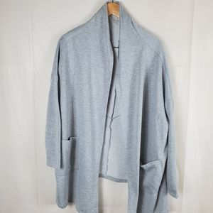Forever 21  Grey Oversized Open Front Card…